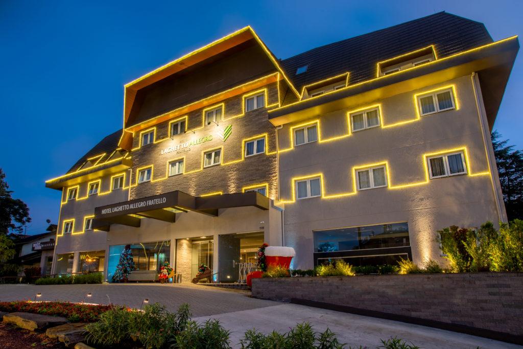 Hotéis Laghetto terão decoração interativa para o Natal 2020
