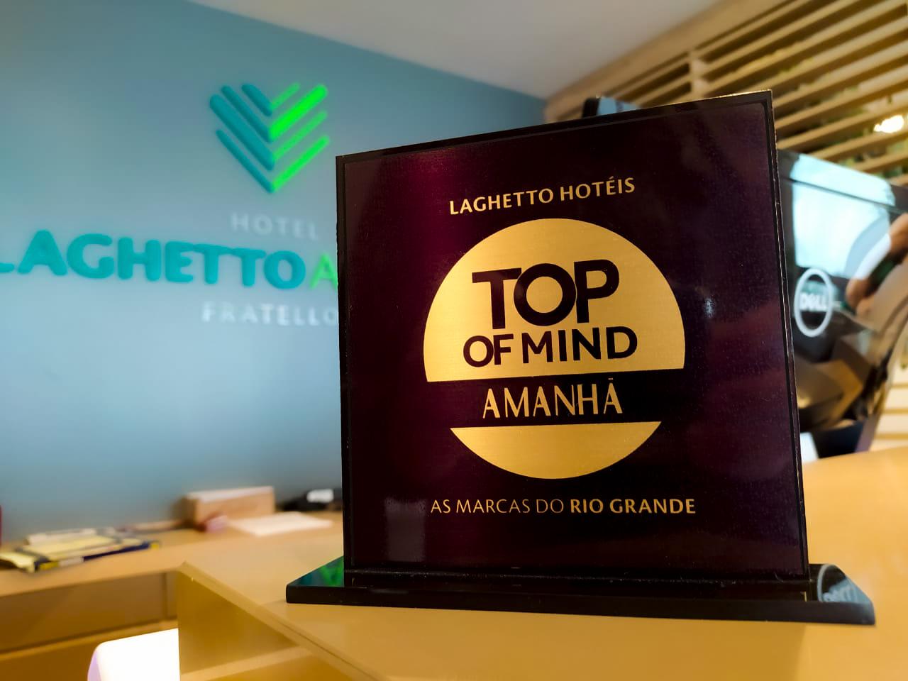 Laghetto Hotéis é Top of Mind 2020