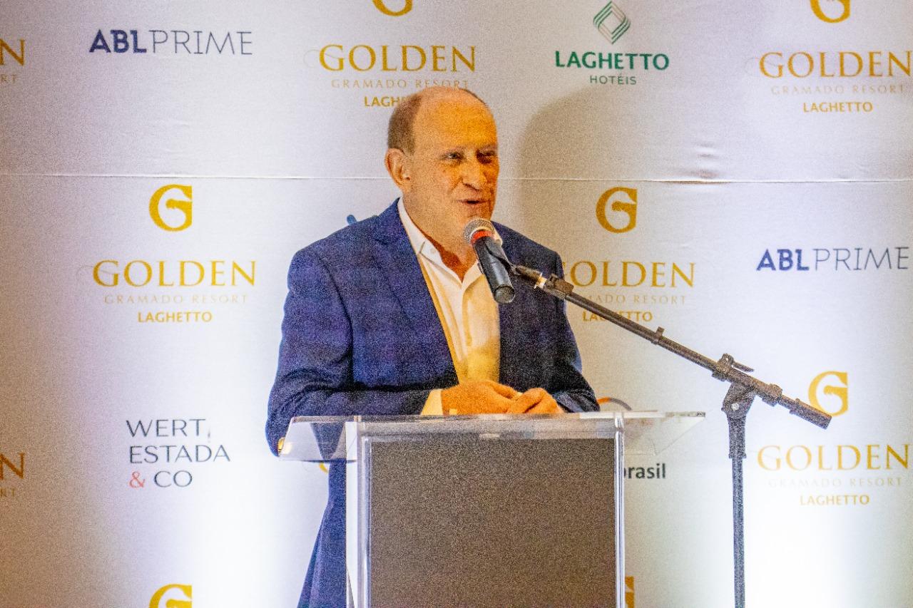 Sócio-diretor da Laghetto Hotéis, Plinio Ghisleni