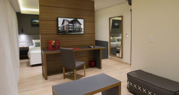Hotel Laghetto Stilo Centro - Suíte Stilo (3)
