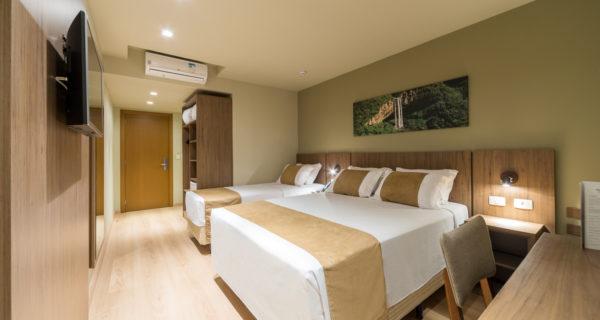 Hotel Laghetto Vivace Canela - Apartamento Luxo Triplo