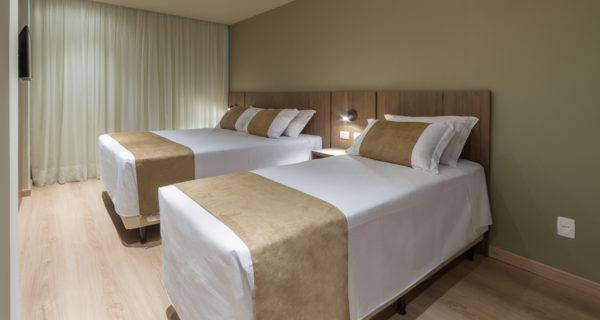Hotel Laghetto Vivace Canela - Apartamento Super Luxo Triplo (3)