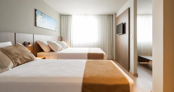 Hotel Laghetto Vivace Canela - Apartamento Super Luxo Triplo